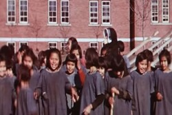 Remains of 215 indigenous children found in Canada