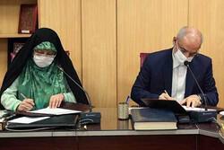 آئین امضای موافقتنامه همکاری بین معاونت امور زنان و خانواده و آموزش و پرورش