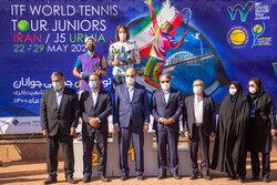 مسابقات تنیس خاکی جوانان زیر ۱۸ جهان در ارومیه خاتمه یافت