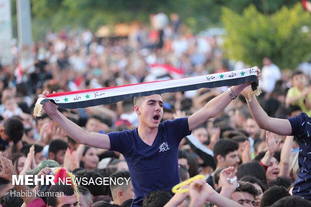 Beşar Esad'ın seçim zaferi Lazkiye'de kutlandı