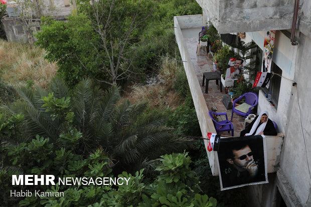 جشن پيروزي بشار اسد در انتخابات رياست جمهوري در شهر قرداحه
