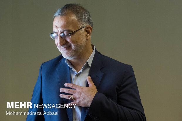 نشست خبری زاکانی، نامزد سیزدهمین دوره انتخابات ریاست جمهوری