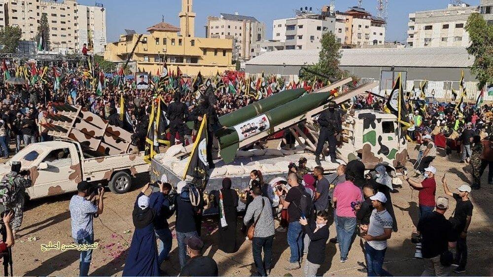 Islamic Jihad celebrates victory over Zionists