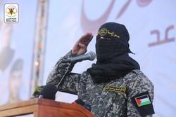 رزمنده گروهان های القدس از رهبرانقلاب وسیدحسن نصرالله قدردانی کرد