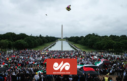 VIDEO: People of Washington rally in support of Palestinians
