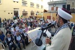 احتفال في لبنان بمعركة سيف القدس
