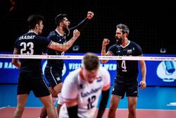 تیم ملی والیبال ایران - هلند