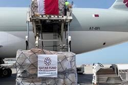 Qatar 2nd pharmaceutical-medical shipment aid arrives in Iran
