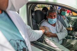 واکسیناسیون خودرویی کرونا در یزد