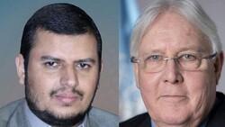 المبعوث الأممي يلتقي السيد عبدالملك الحوثي