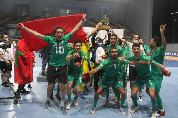 شکست سنگین مصر در فینال فوتسال کشورهای عربی مقابل مراکش