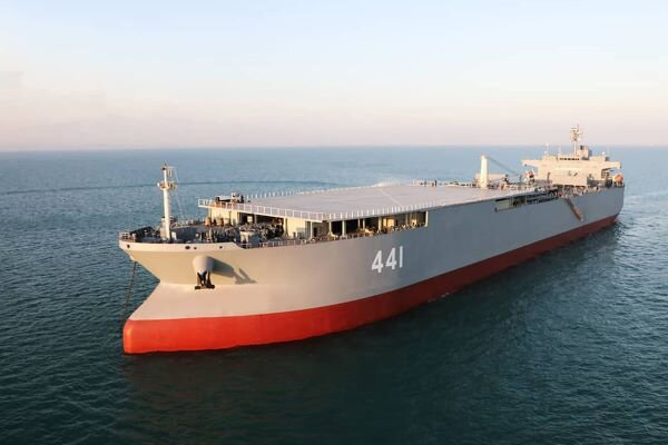 Two Iranian warships heading for Venezuela, US claims