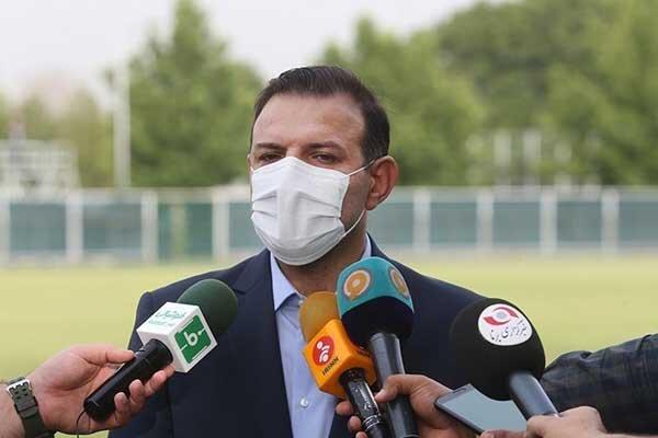 اظهارات رئیس فدراسیون فوتبال در جمع بازیکنان تیم ملی در بحرین
