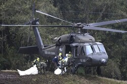 Five Colombian policemen killed in helicopter crash