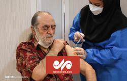 واکسیناسیون دومین گروه از هنرمندان