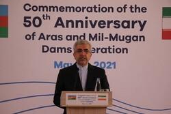 سد ارس نمونه درخشان توسعه و تقویت روابط ایران و آذربایجان است