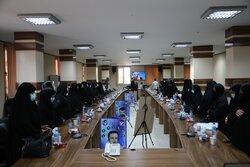 نشست پرچمداران انقلاب در نهضت امام خمینی(ره) ویژه بانوان ورامینی
