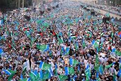 Massive rallies in Peshavar in solidarity with Palestine