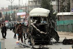 A car bomb explodes opposite police HQ in Afghan Baghlan prov