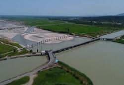 ۷۰۰ میلیون متر مکعب آب تحویل شبکه آبیاری و زهکشی گیلان شد