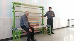 احیای هنر گلیم بافی در اردستان/توسعه صنایع دستی را مدنظر داریم