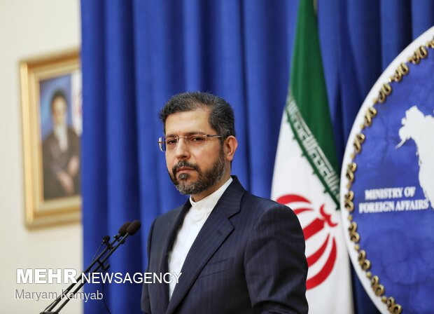 Presser of Iranian foreign ministry spox