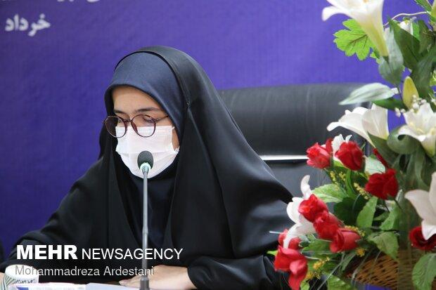 نشست پرچمداران انقلاب اسلامی در نهضت امام خمینی (ره) ویژه بانوان در ورامین