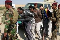 Four ISIL terrorists arrested in Iraq's Nineveh, Kirkuk