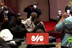 VIDEO: Pan-African Parliament erupts into chaos