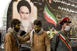 تبریز میں حضرت امام خمینی (رہ) کی برسی کی آمد کے موقع پر شاندار تقریب منعقد