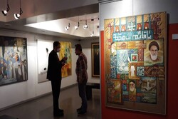 نمایشگاه «سوگ آفتاب» افتتاح شد/ آثاری از خسروجردی تا ترقیجاه