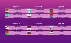تیم ملی فوتسال ایران با آرژانتین، آمریکا و  صربستان همگروه شد