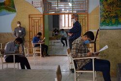 گزارش تخلفات کرونایی امتحانات نهایی دانش آموزان/نمره وزارت بهداشت به آموزش و پرورش