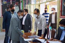 بازدید معاون وزیر آموزش و پرورش از حوزه امتحانات نهایی کرمانشاه