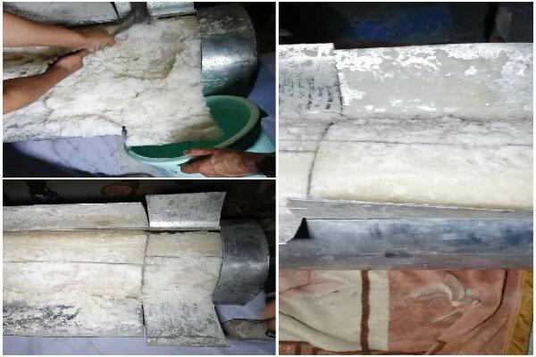 کشف محموله ۳۵۴ کیلوگرمی مواد مخدر شیشه در بهارستان