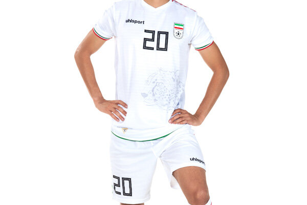 Iran national soccer team's kits for WC qualifiers unveiled