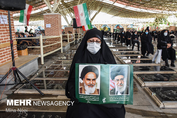 برگزاری مراسم بزرگداشت رحلت امام خمینی (ره) و شهدای 15 خرداد در تبریز