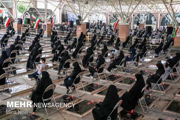Tebriz'de İmam Humeyni (ra) için anma töreni düzenlendi