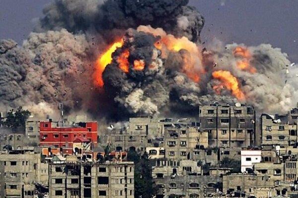 اسرائیل  کا غزہ پر اسلامی مزاحمت کے ٹھکانے پر ہوائی حملہ