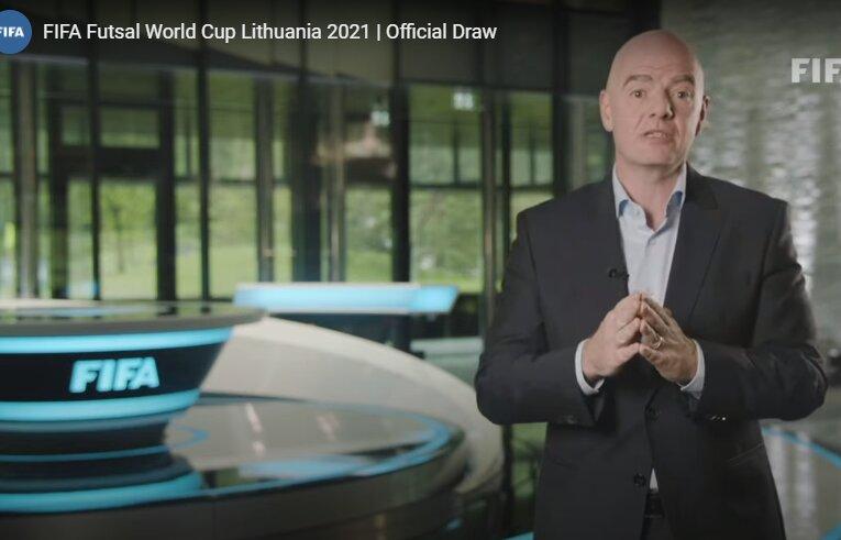 آغاز مراسم قرعه کشی جام جهانی فوتسال/ «کیکه» مدعیان را معرفی کرد!
