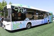 إزاحة الستار عن اوّل حافلة كهربائية ايرانية الصنع