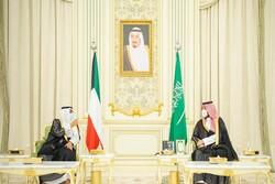 ولیعهد سعودی با همتای کویتی خود دیدار کرد