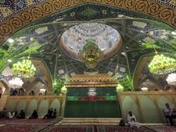 مراسم قرائت دعای توسل در حرم حضرت رقیه(س) برگزار شد