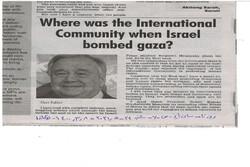 جامعه بینالملل کجا بود وقتی اسرائیل غزه را بمباران میکرد؟