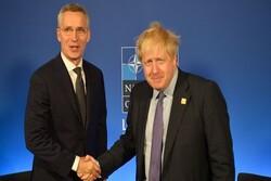 دبیرکل ناتو و نخست وزیر انگلیس دیدار می کنند