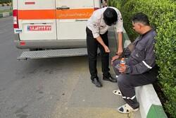 آتش سوزی پالایشگاه تهران ۱۱ مصدوم داشت