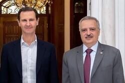 رئیس حزب دموکرات لبنان با «بشار اسد» دیدار و گفتگو کرد