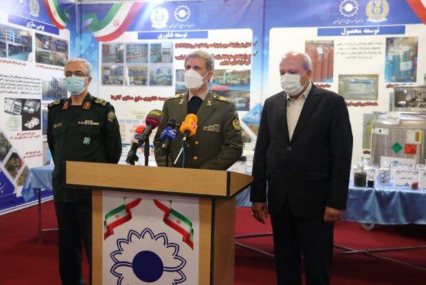 وزارة الدفاع تفتتح خط انتاج البطاريات الفائقة لمحطات الطاقة