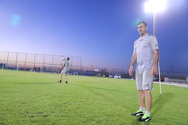 گفتگوی بشار رسن با مربی پرسپولیس در اروی تیم ملی