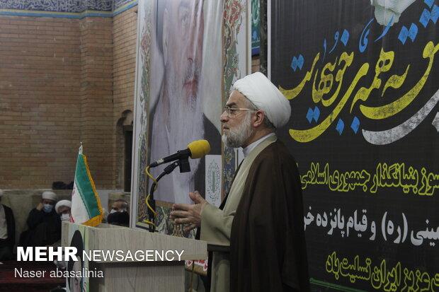 گرامیداشت سالروز ارتحال امام خمینی (ره) در سنندج